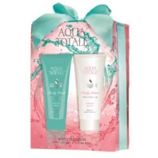 GIFT SET 2PC AQUA TOTALE APRICOT