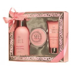 GIFT SET 3PC MAISON ROYALE RHUBARB & RASPBERRY
