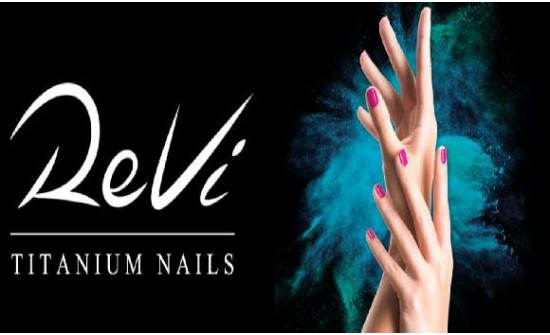 Revi Titanium Nails - unhas de imersão em pó