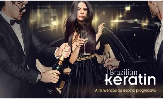 Alisamento progressivo Brazilian Keratin. 1 só passo.