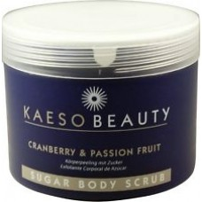 KAESO CRANBERRY & PASSION FRUIT BODY SCRUB, 450ML